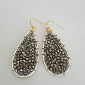 New Lucky Brand Beaded Earrings
